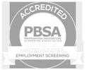 Professional Background Screening Association (PBSA) Accreditation